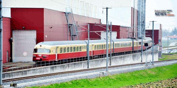 Stadler Overhauls TEE Train