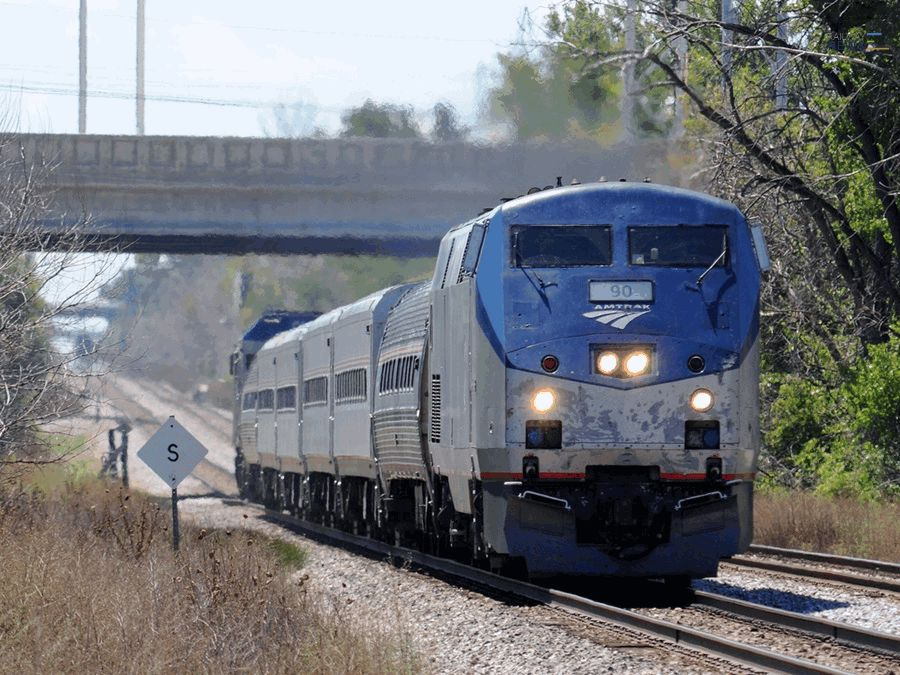 Amtrak Starts 110mph Service on Chicago-St. Louis Line
