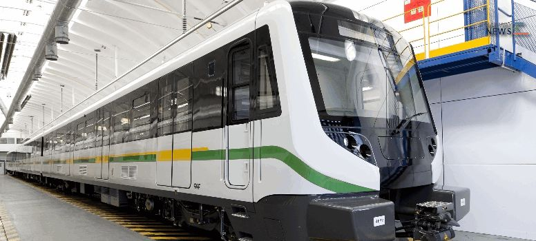 Caf Supplies 20 Trains to Medellin Metro