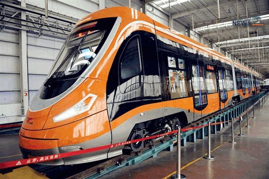China Produces First Hydrogen Tram