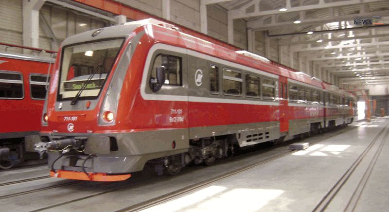 Metrowagonmash Supply DMU for Serbian Railways