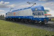 Skoda 109E Locomotive Gets TSI