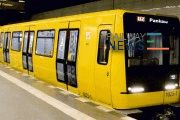 Stadler Presents Model of Berlin Metro Train at UITP in Geneva