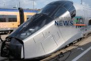 Alstom AGV High Speed Train Enters to Test