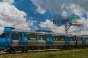 First X'Trapolis Mega EMU arrives in South Africa
