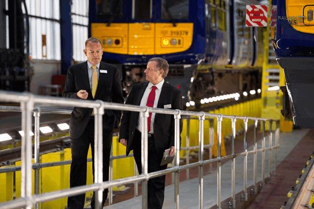 Allerton Depot Opens to Electric Trains