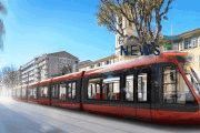 Alstom's Citadis Trams for the East-West Line of the Nice Côte d'Azur Tramway is Revealed