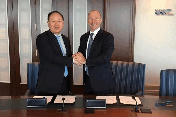 Bombardier and CRRC Sign Strategic Cooperation Agreement