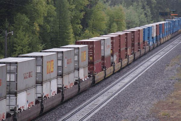 Trans-Siberian - China Transit-Container Transportation Increased 89% in 9 Months