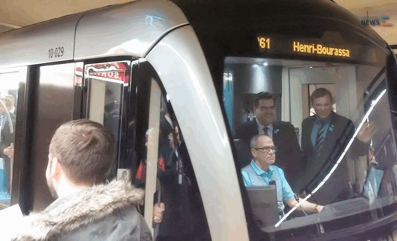 Montreal's AZUR Metro Cars in Service