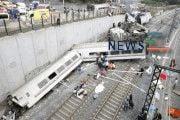 78 Passenger Killed after Spanish High Speed Train Derails