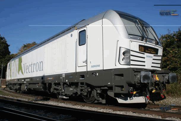 Lokomotion Orders 8 Siemens Vectron Locomotives