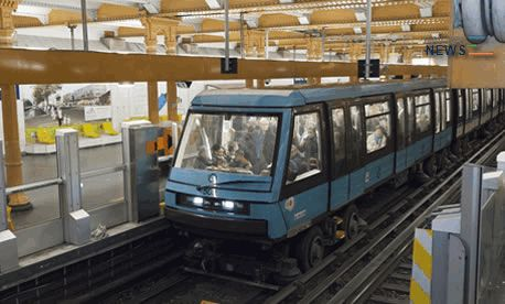 Siemens Driveless Metro Trains