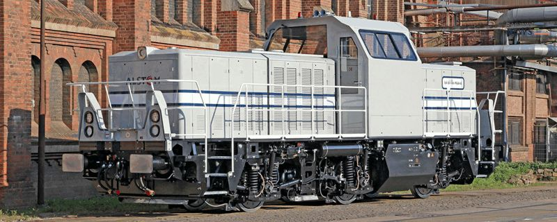 Alstom Hybrid Locomotive