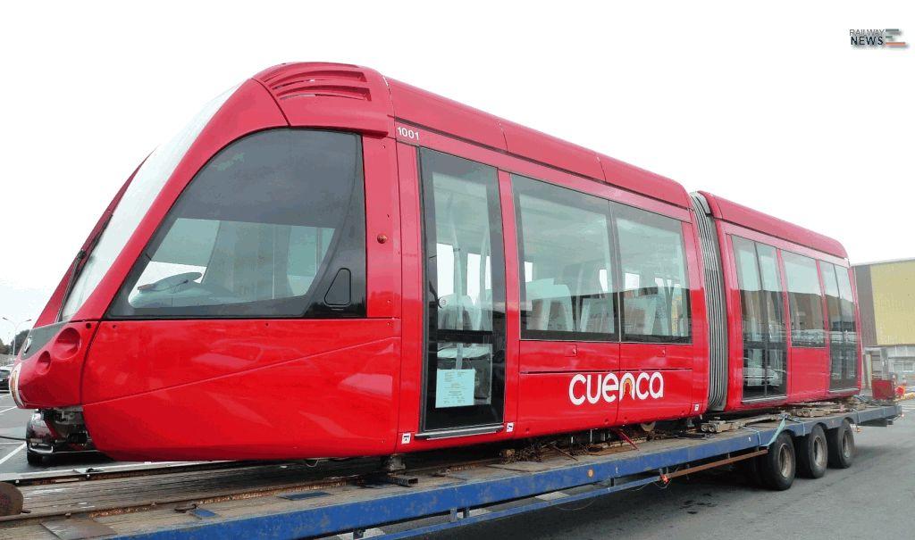 Alstom Citadis Cuenca Trams