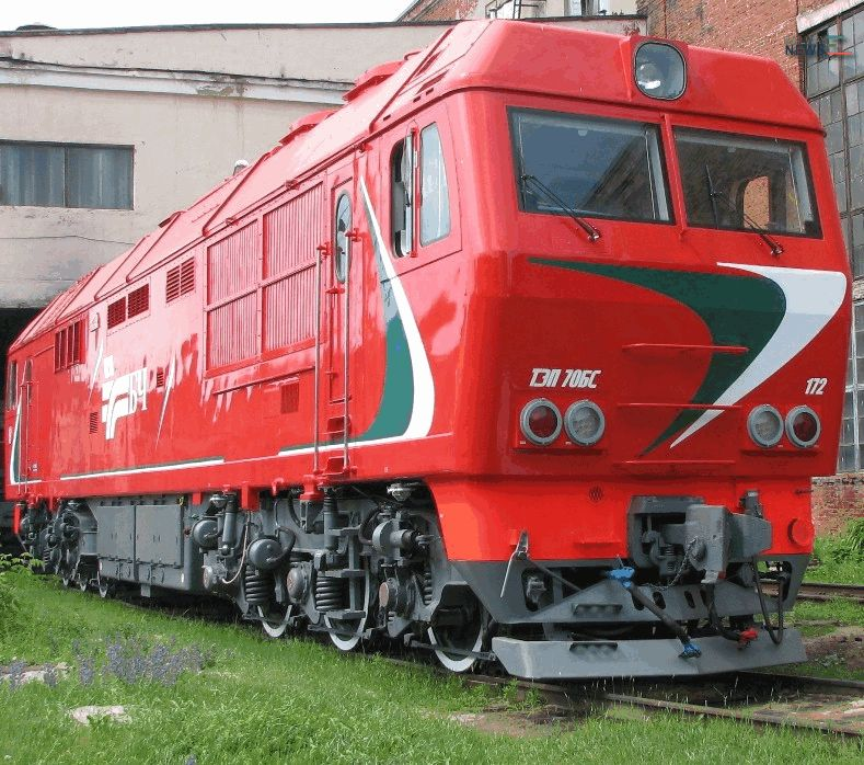 TMH TEP70BS Locomotive