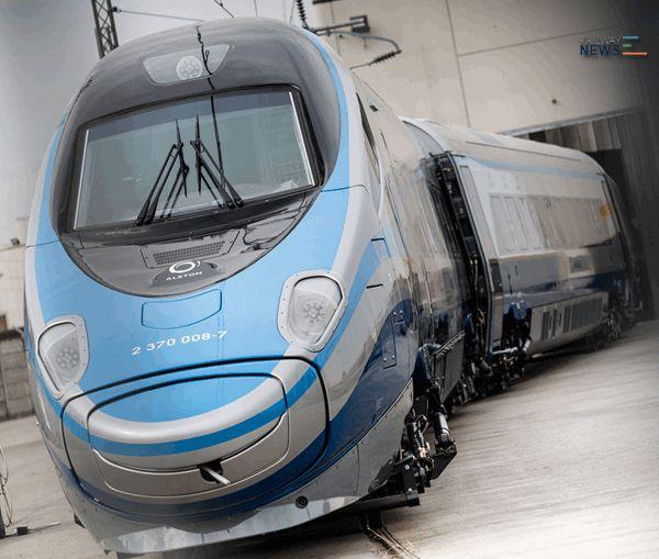 pendolino alstom train set