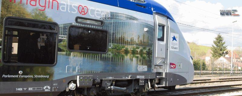 Alstom Regiolis Alsace Train Sets