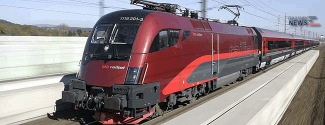 Siemens Railjet Trains