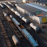 The  Volume of Cargo Transportation by Rail along the North–South Corridor Increased 21.6% in 9 Months