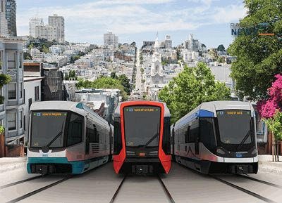 San Francisco Siemens Trams