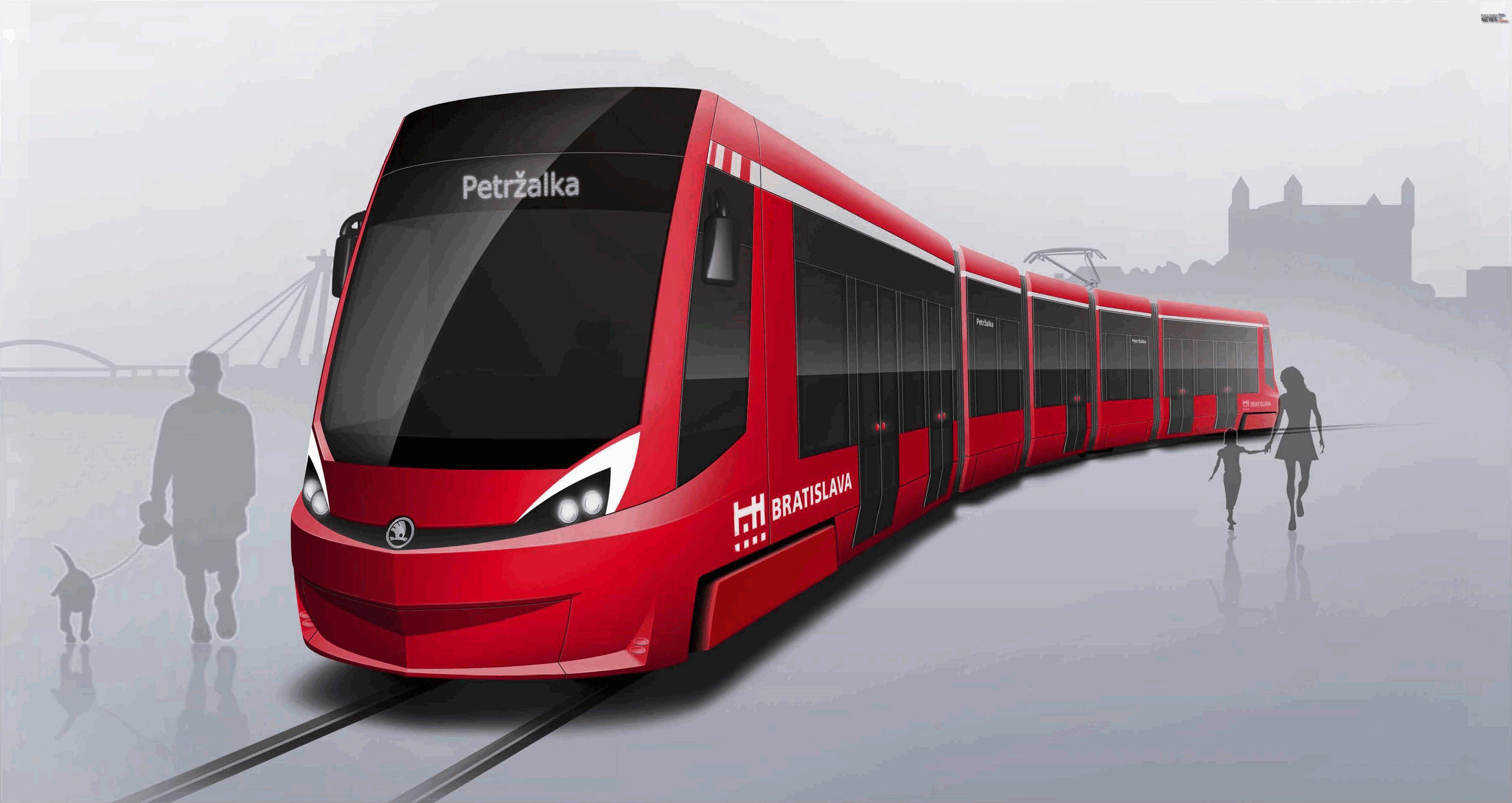 Skoda Bratislava Trams
