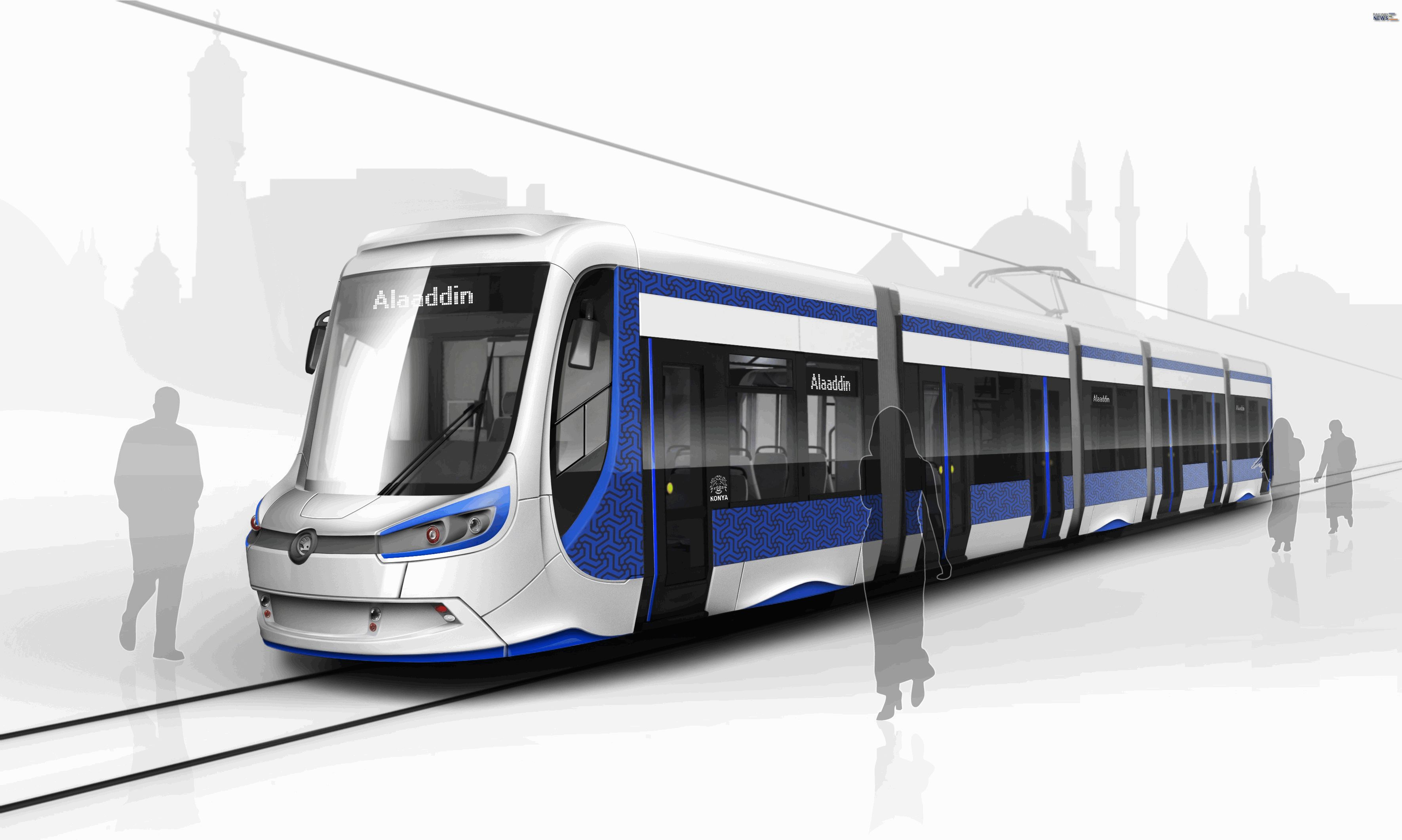 Skoda Konya Tram Vehicle
