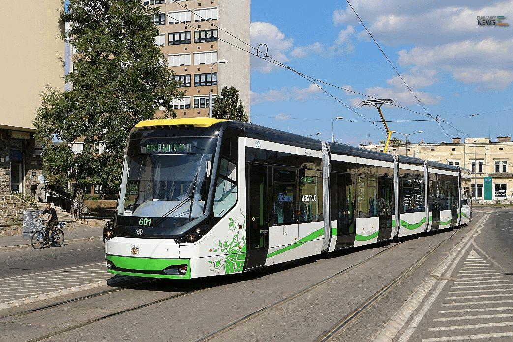 Skoda Miskolc Tram Cars