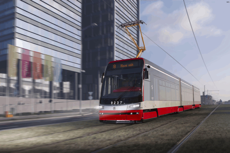 Skoda 15T Tram Cars