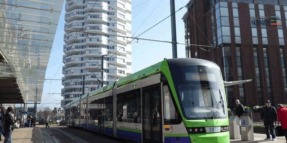 Stadler Variobahn Tram Car