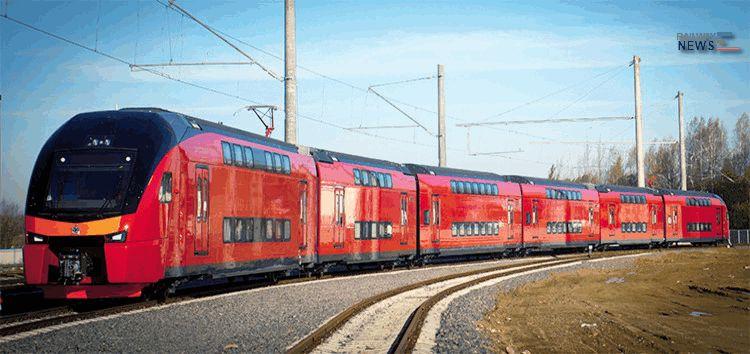 Stadler Rail Aeroexpress Double Decker Trains