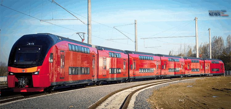 Stadler Aeroexpress Double Deck Trains
