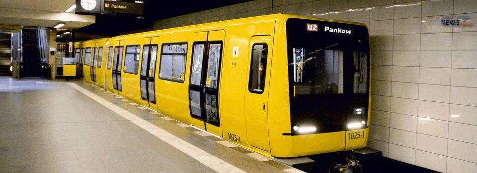 Stadler BVG Tango Metro Trains