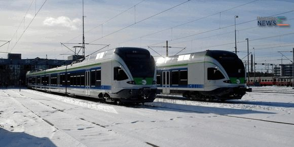 Stadler Rail Finland Flirt Trains