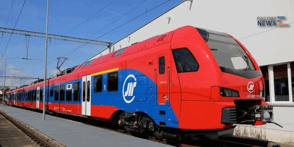 Stadler Rail Serbian Flirt3 Train