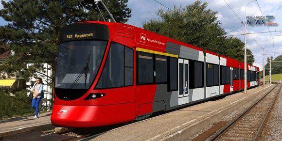 Stadler Rail Tango Tram Swiss