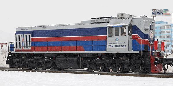 Mongolian Diesel Shunting Locomotive