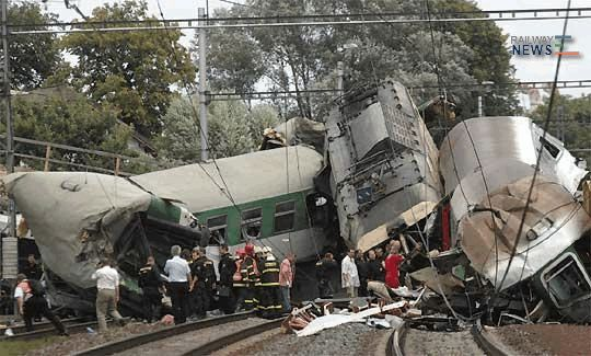 Studenka Train Crash