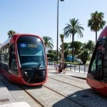 Inauguration of the Nice Côte d'Azur Urban Light-Rail Extension