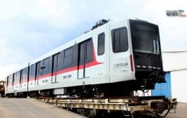 Bombardier's First Train for SITEUR Arrives in Guadalajara